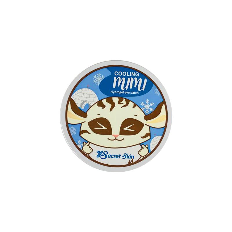 Own label brand, [SECRETSKIN] Cooling Mimi Hydrogel Eye Patch 1.4g * 60ea (Weight : 192g)