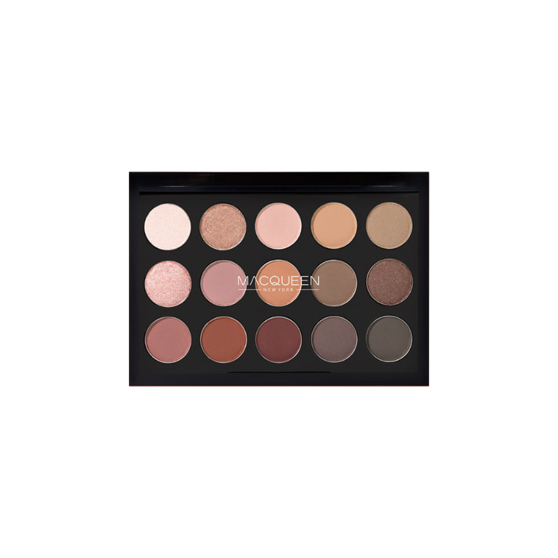 Own label brand, [MACQUEEN NEW YORK] Tone-On-Tone Shadow Palette 7.5g (Weight : 65g)