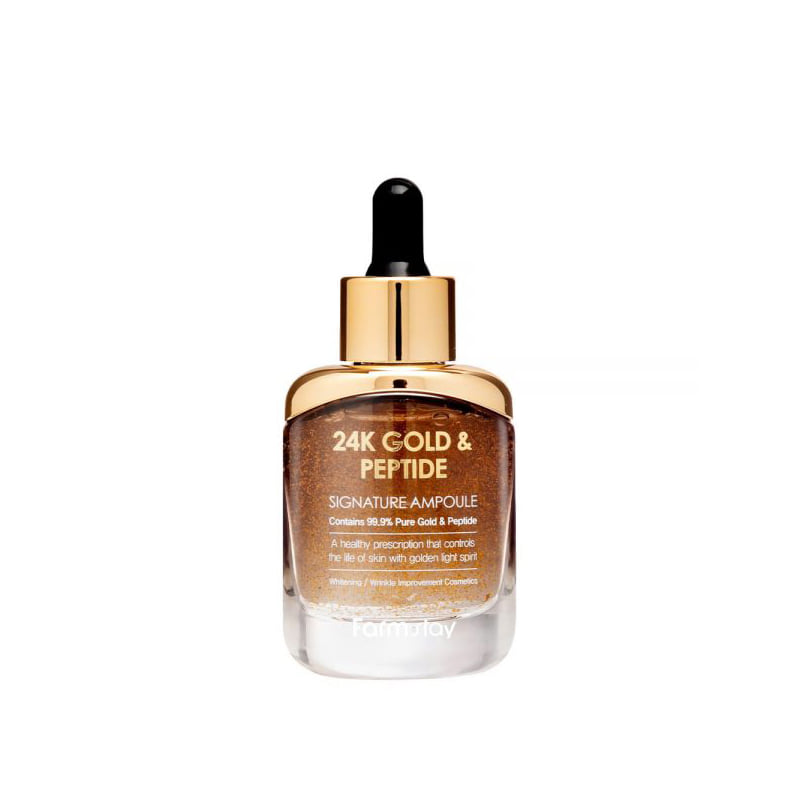 Own label brand, [FARM STAY] 24K Gold & Peptide Signature Ampoule 35ml (Weight : 189g)