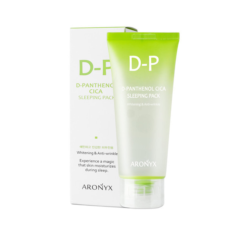 Own label brand, [MEDI FLOWER] Aronyx D-Panthenol Cica Sleeping Pack 100ml (Weight : 139g)