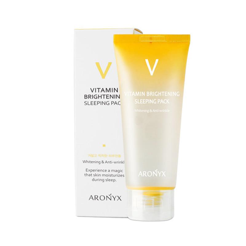 Own label brand, [MEDI FLOWER] Aronyx Vitamin Brightening Sleeping Pack 100ml (Weight : 139g)