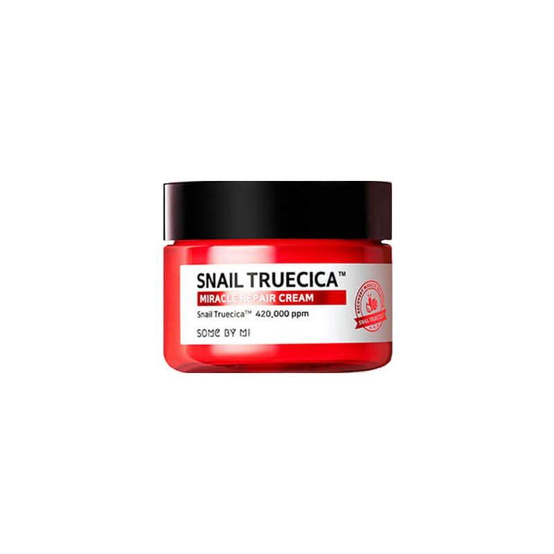 Own label brand, [SOME BY MI] Snail Truecica Miracle Repair Cream 60g (Weight : 142g)