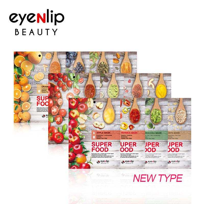 Own label brand, [EYENLIP] Super Food Mask 23ml * 1pcs 12 Type (Weight : 30g)