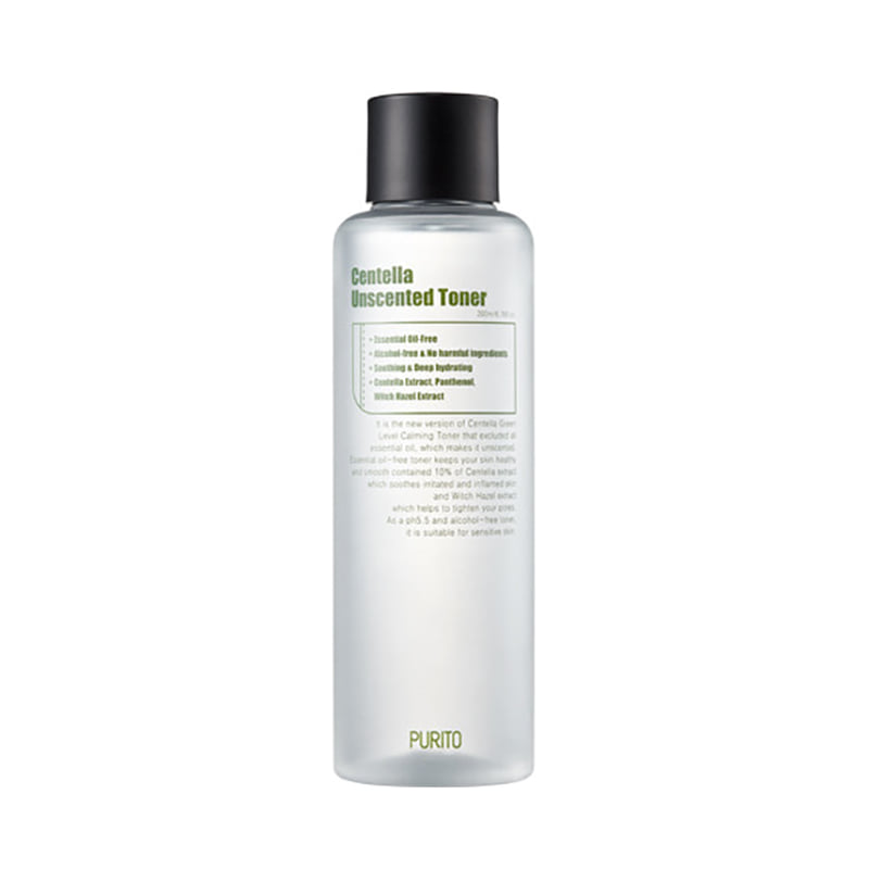 Own label brand, [PURITO] Centella Unsented Toner 200ml (Weight : 247g)