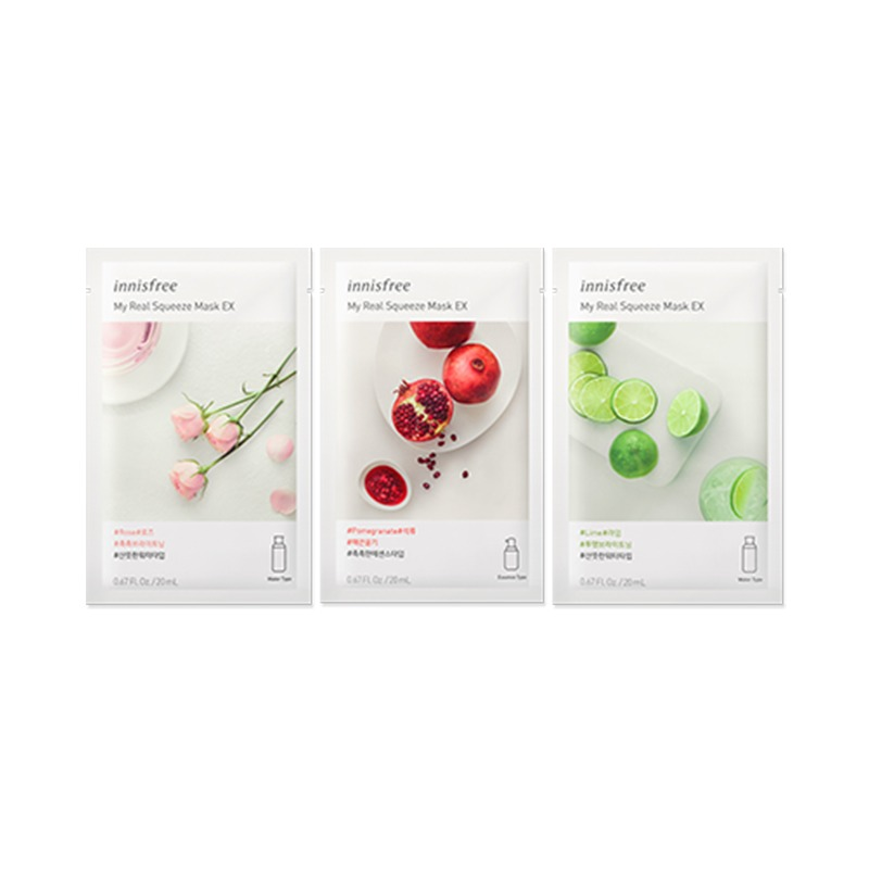 Own label brand, [INNISFREE] My Real Squeeze Mask EX 20ml 13 Type (Weight : 28g)