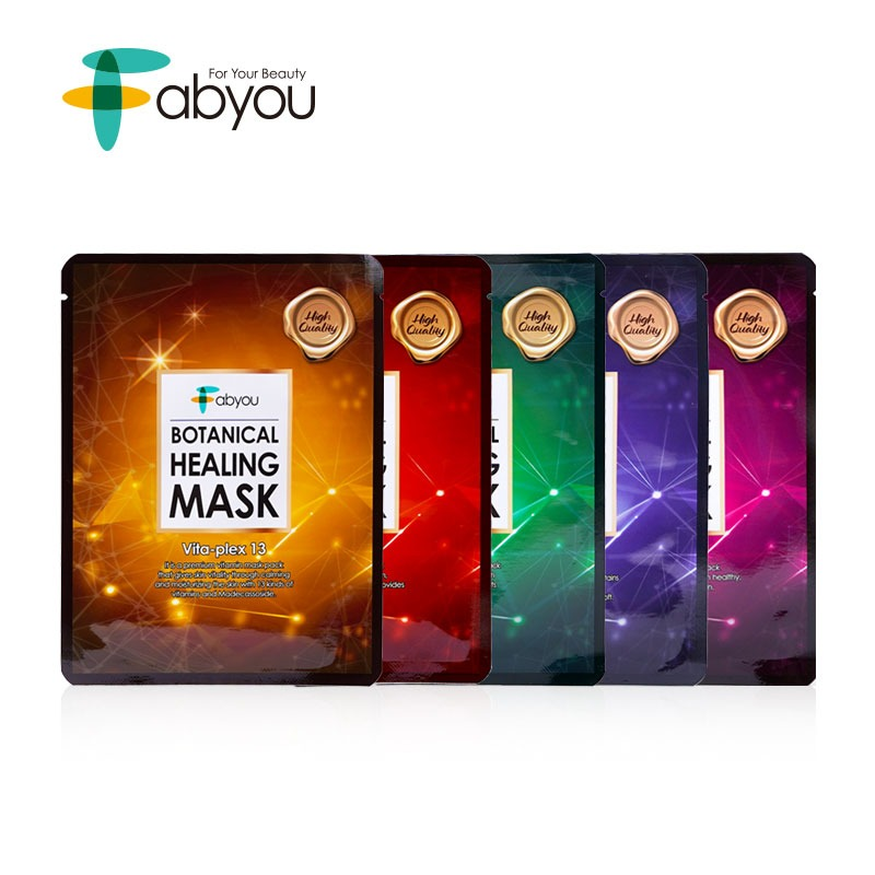 Own label brand, [FABYOU] Botanical Healing Mask 23ml * 1pcs 5 Type  (Weight : 32g)