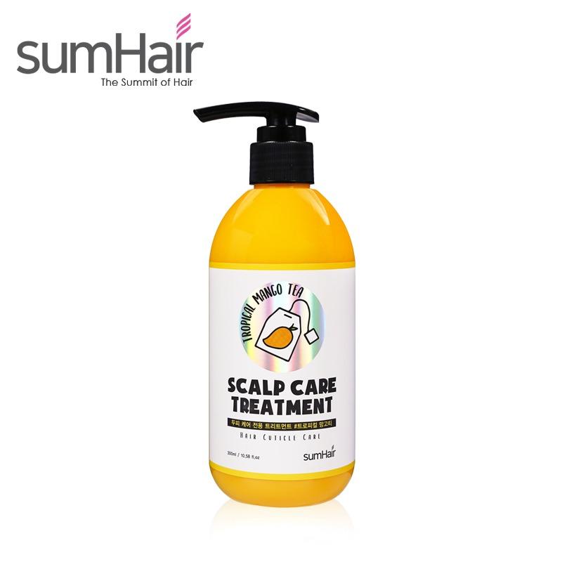 Own label brand, [SUMHAIR] Scalp Care Treatment #Tropical Mango Tea 300ml (Weight : 368g)