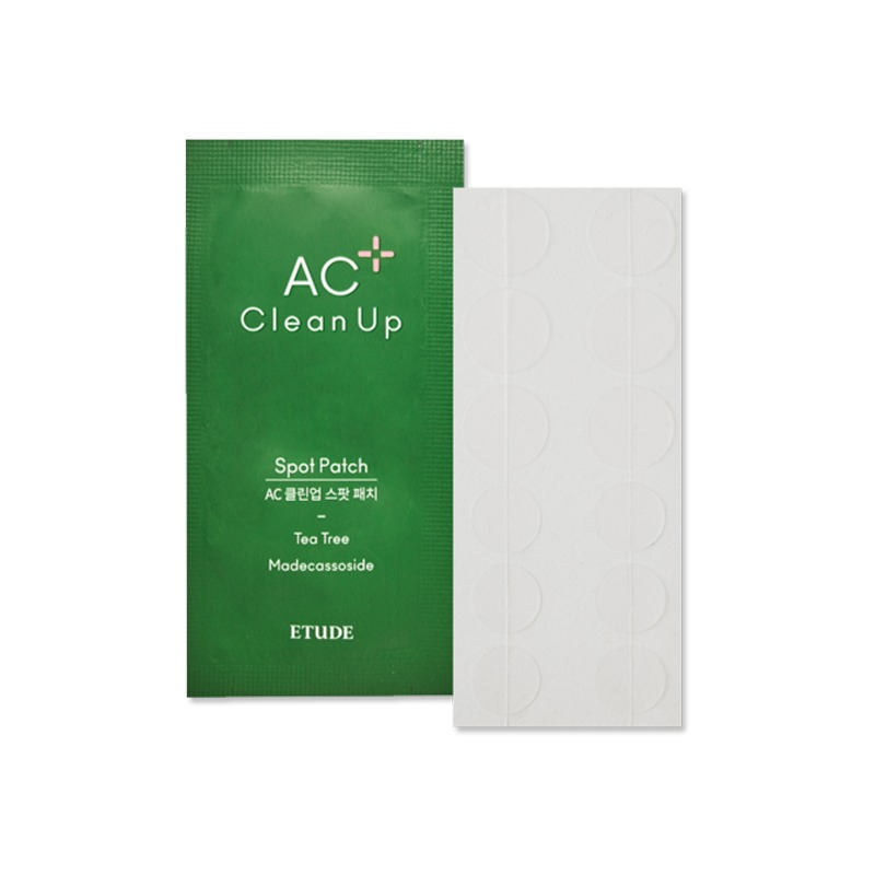 Own label brand, [ETUDE HOUSE] AC CLEAN UP Spot Patch 1pcs (12 Patches) 2020 Renewal (Weight : 2g)