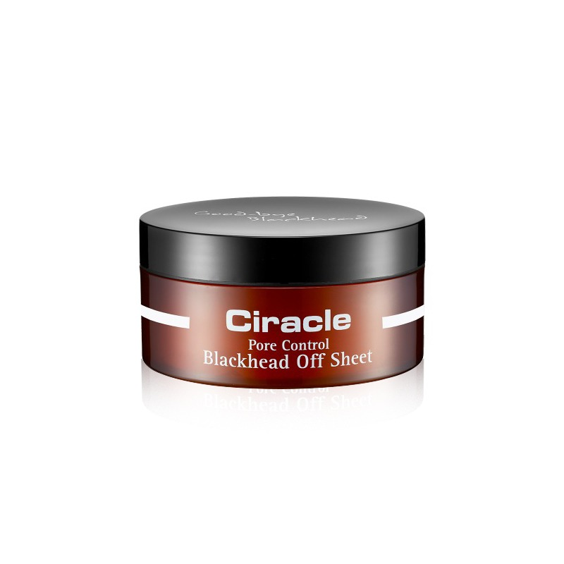 Own label brand, [CIRACLE] Pore Control Blackhead Off Sheet 40 Sheet [Renewal] (Weight : 133g)