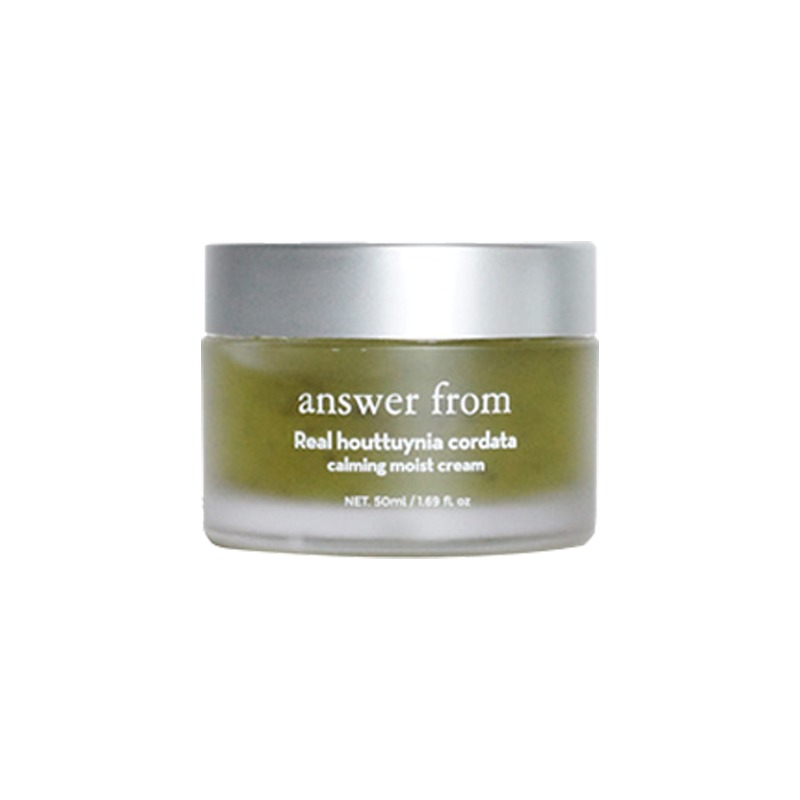 Own label brand, [ANSWER FROM] Real Houttuynia Cordata Calming Moist Cream 50ml (Weight : 137g)
