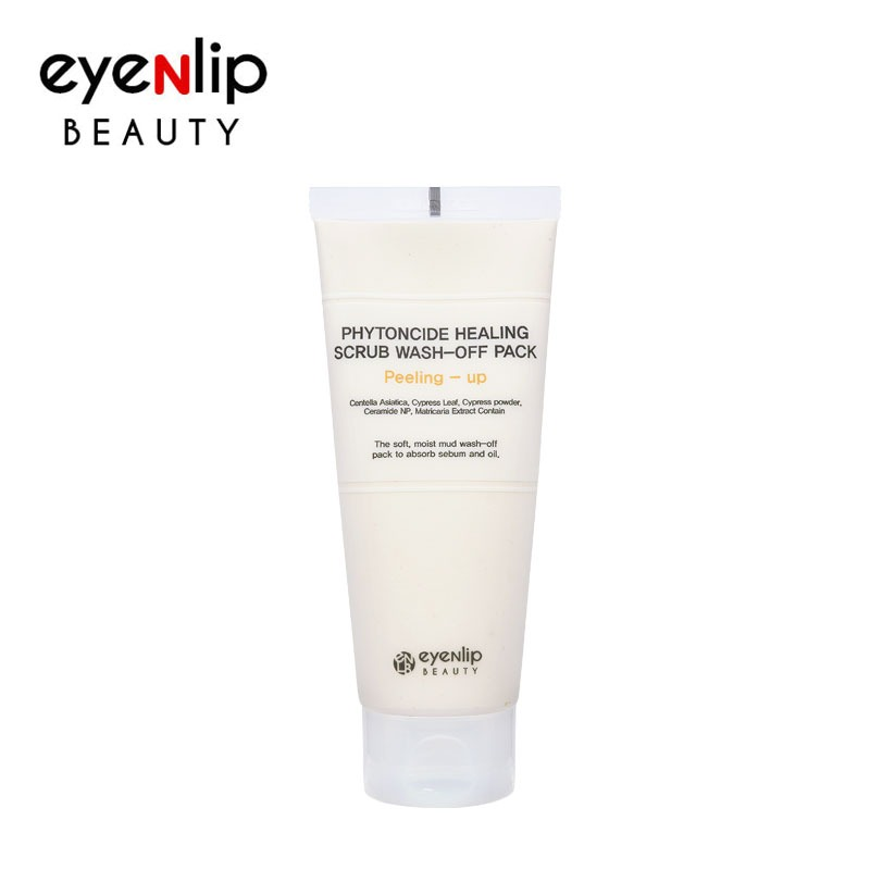 Own label brand, [EYENLIP] Phytoncide Healing Scrub Wash-Off Pack Peeling-Up 150g (Weight : 200g)