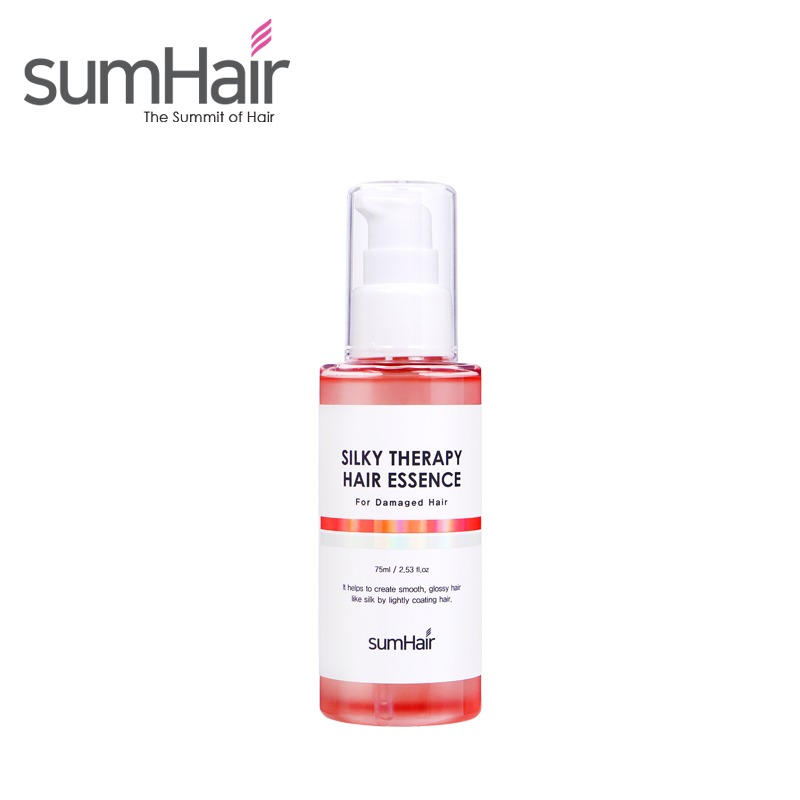 Own label brand, [SUMHAIR] Silky Therapy Hair Essence [For Damaged Hair] 75ml (Weight : 114g)