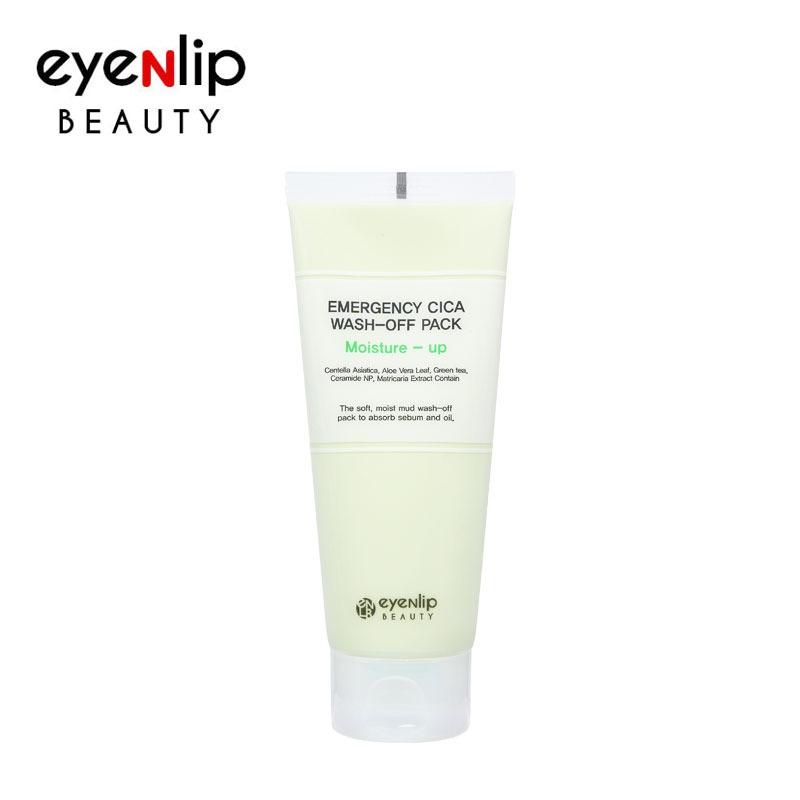 Own label brand, [EYENLIP] Emergency Cica Wash-Off Pack Moisture-Up 150g (Weight : 200g)
