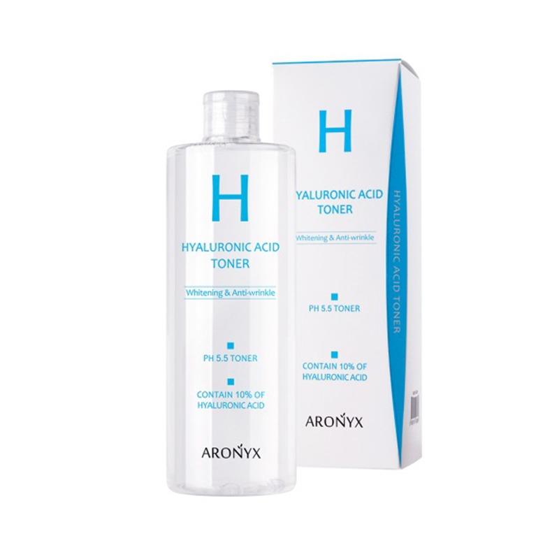 Own label brand, [MEDI FLOWER] Aronyx Hyaluronic Acid Toner 500ml (Weight : 605g)