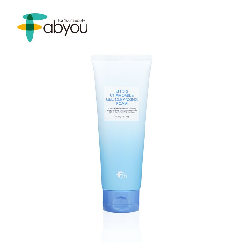 Own label brand, [FABYOU] pH 5.5 Chamomile Gel Cleansing Foam 150ml (Weight : 205g)