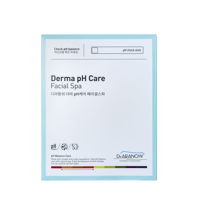 Own label brand, [DEARANCHY] Derma pH Care Facial Spa 25g*1pcs (Weight : 22g)