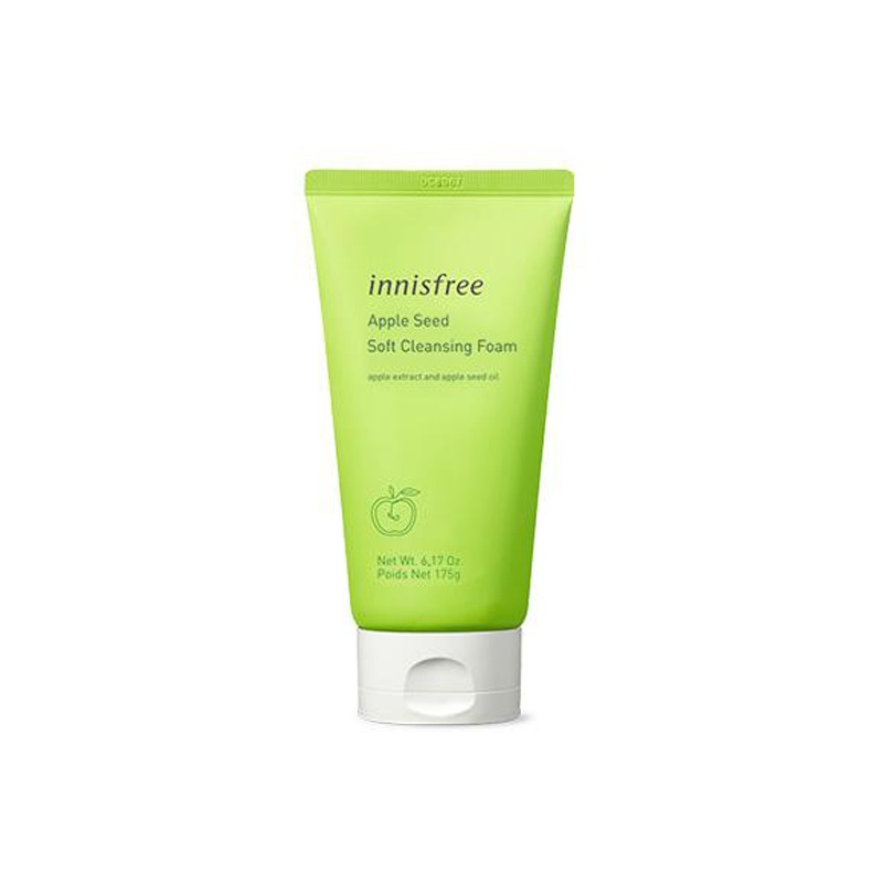 Own label brand, [INNISFREE] Apple Seed Soft Cleansing Foam 150g (Weight : 186g)