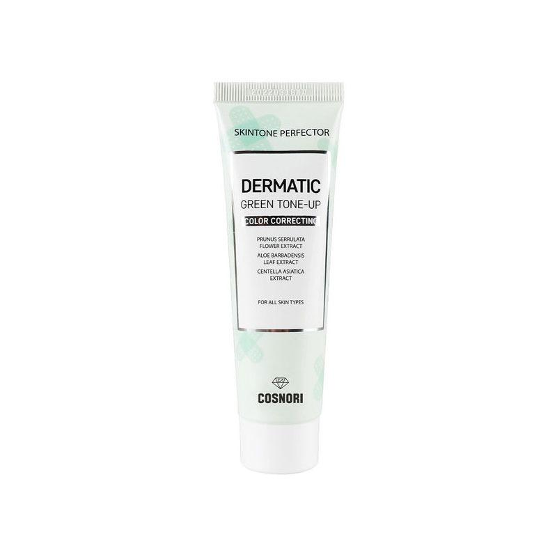 Own label brand, [COSNORI] Dermatic Green Tone-Up Cream 50ml (Weight : 75g)