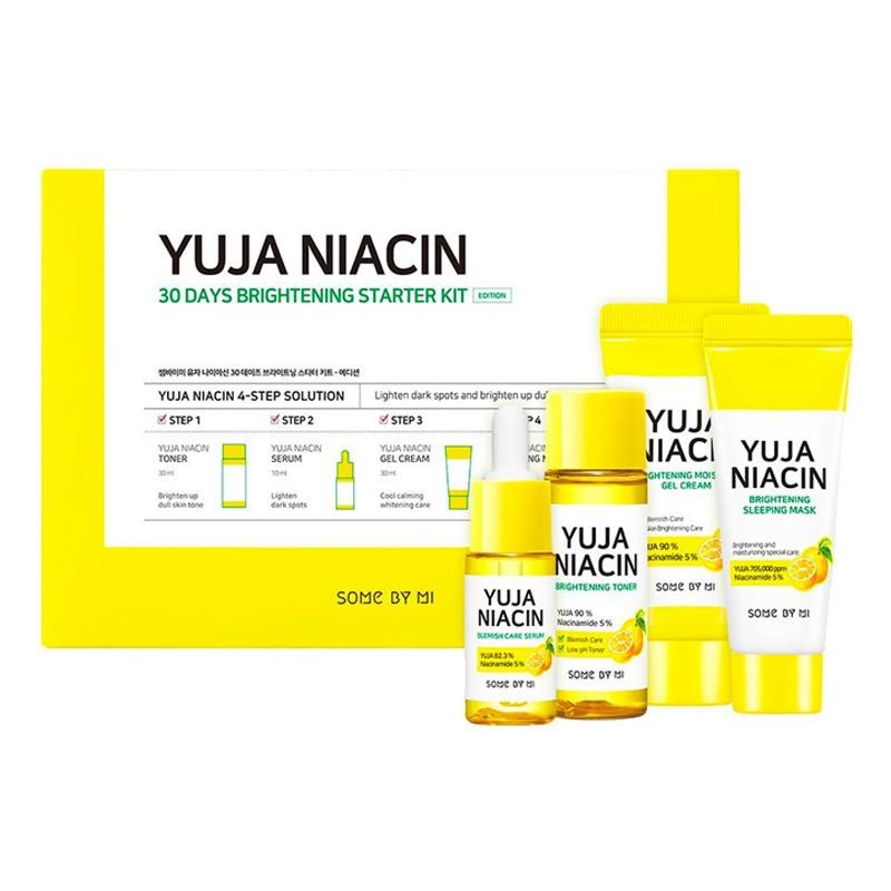 Own label brand, [SOME BY MI] Yuja Niacin 30 Days Brightening Starter Kit [Edition] (Weight : 193g)