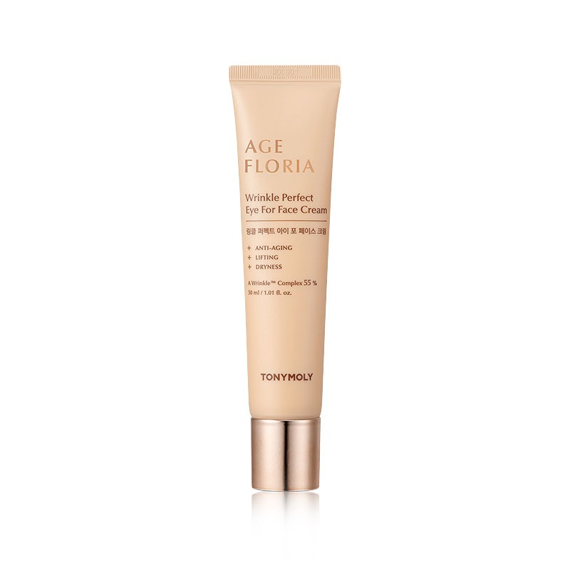 Own label brand, [TONYMOLY] Age Floria Wrinkle Perfect Eye For Face Cream 30ml (Weight : 82g)