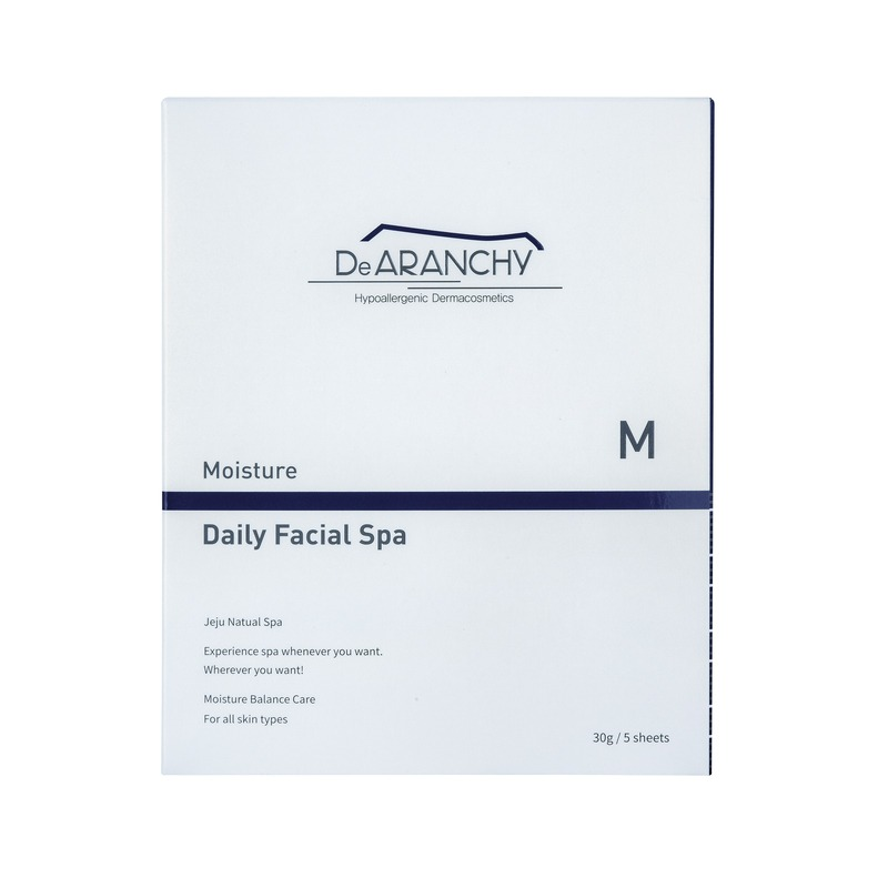 Own label brand, [DEARANCHY] Moisture Daily Facial Spa 1pcs (Weight : 39g)