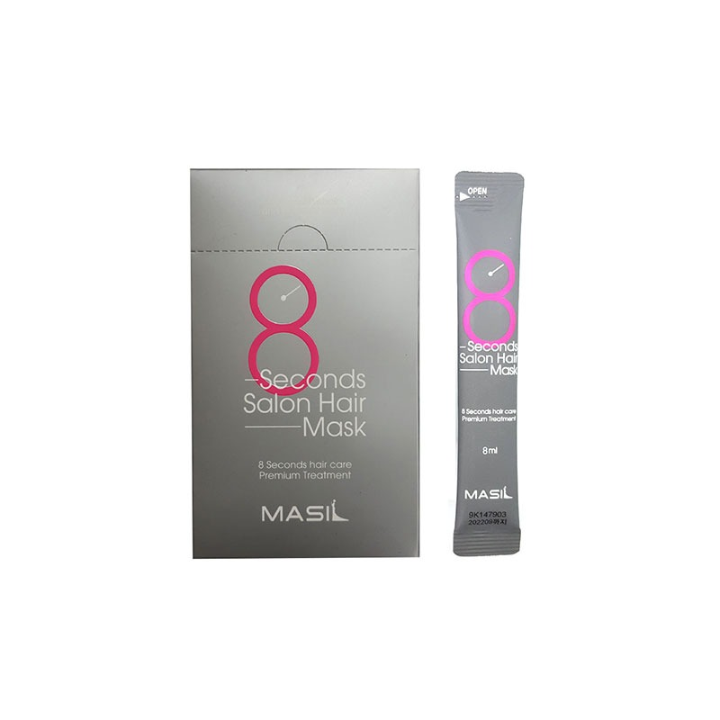 Own label brand, [MASIL] 8 Seconds Salon Hair Mask For Travel 8ml * 20EA (Weight : 189g)