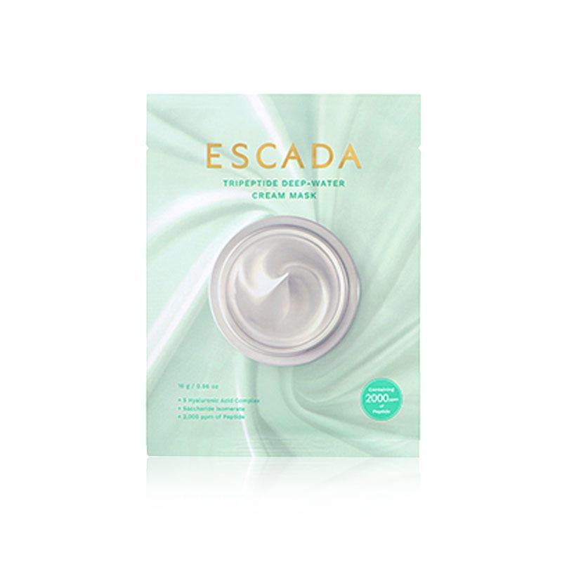 Own label brand, [ESCADA] Tripeptide Deep-Water Cream Mask 16g * 1pcs (Weight : 32g)