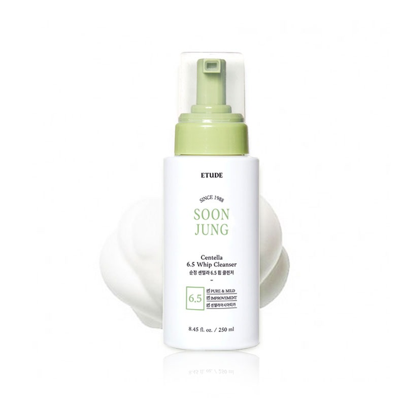 Own label brand, [ETUDE HOUSE] Soonjung Centella 6.5 Whip Cleanser 250ml (Weight : 368g)