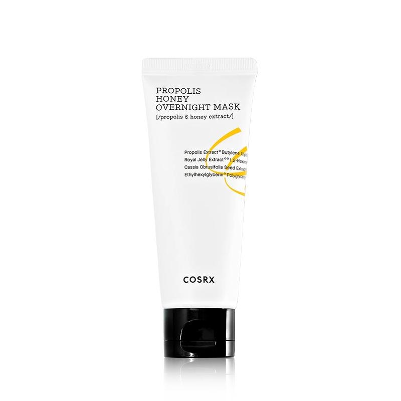 Own label brand, [COSRX] Propolis Honey Overnight Mask 60ml (Weight : 98g)