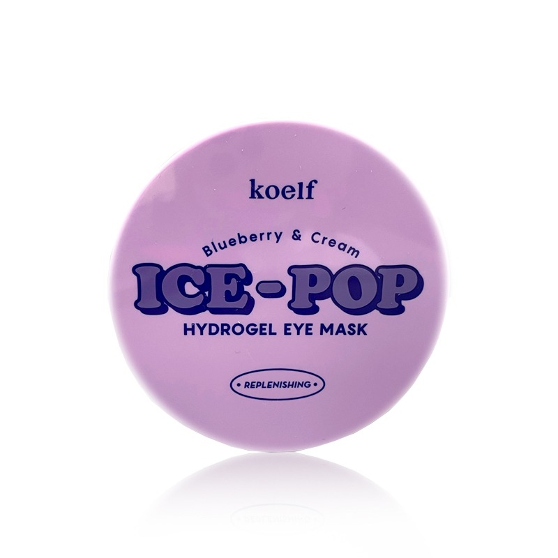 Own label brand, [KOELF] Blueberry & Cream Ice-Pop Hydrogel Eye Mask 84g (Weight : 187g)