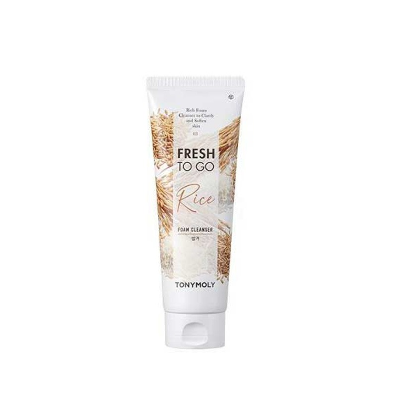 Own label brand, [TONYMOLY] Fresh To Go Foam Cleanser #Rice 170ml (Weight : 202g)