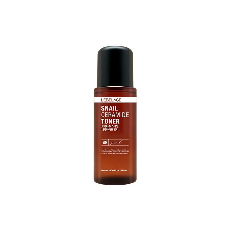 Own label brand, [LEBELAGE] Snail Ceramide Toner 300ml (Weight : 437g)