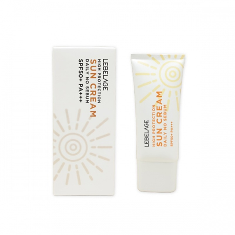 Own label brand, [LEBELAGE] High Protection Daily No Sebum Sun Cream (SPF50+/PA+++) 30ml (Weight : 47g)