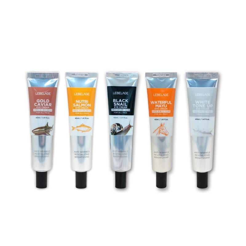 Own label brand, [LEBELAGE] Eye Cream (Tube) 40ml 5 Type (Weight : 58g)
