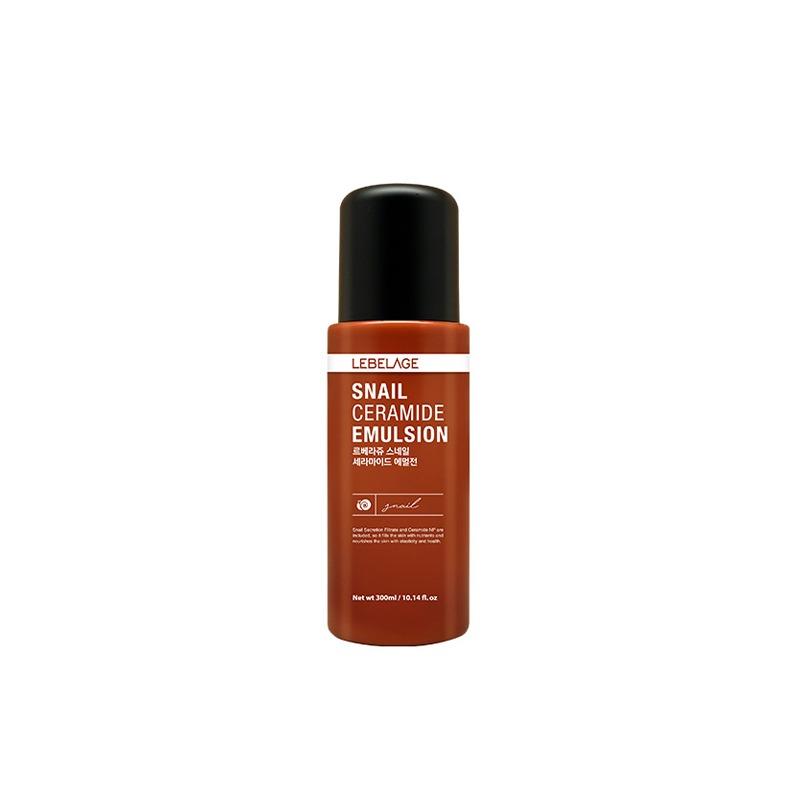Own label brand, [LEBELAGE] Snail Ceramide Emulsion 300ml (Weight : 431g)
