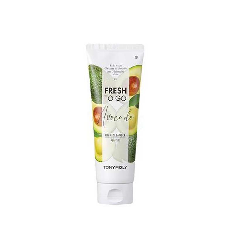 Own label brand, [TONYMOLY] Fresh To Go Foam Cleanser #Avocado 170ml (Weight : 202g)