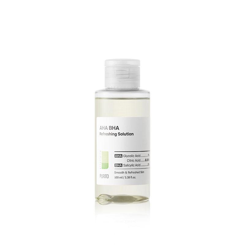 Own label brand, [PURITO] AHA BHA Refreshing Solution 100ml (Weight : 148g)