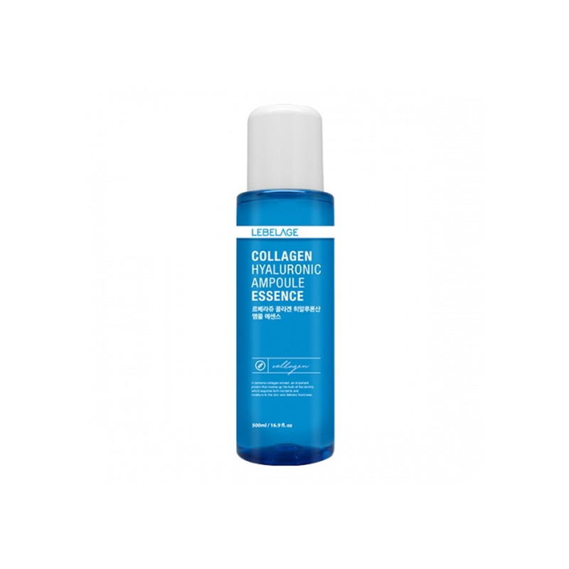 Own label brand, [LEBELAGE] Collagen Hyaluronic Ampoule Essence 500ml (Weight : 680g)