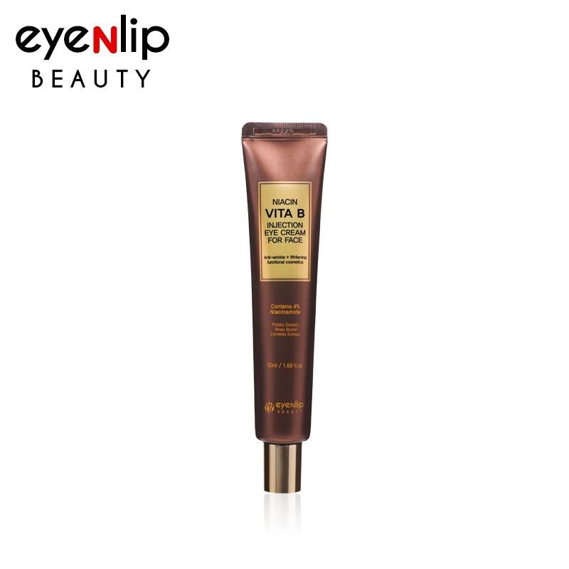 Own label brand, [EYENLIP] Niacin Vita B Injection Eye Cream For Face 50ml (Weight : 70g)