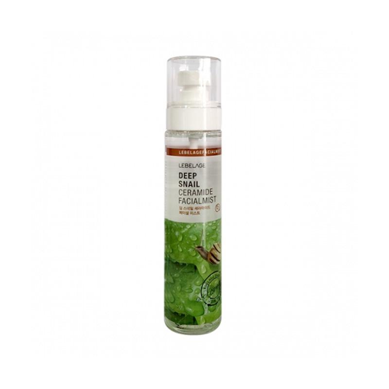 Own label brand, [LEBELAGE] Deep Snail Ceramide Facial Mist 120ml (Weight : 173g)