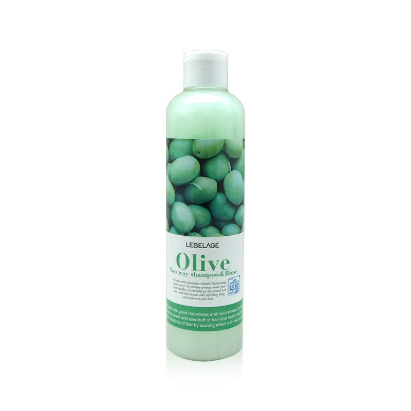 Own label brand, [LEBELAGE] Olive Two Way Shampoo & Rinse 300ml (Weight : 364g)