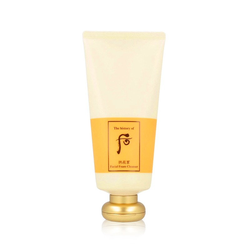 Own label brand, [WHOO] Gongjinhyang Facial Foam Cleanser 180ml (Weight : 259g)