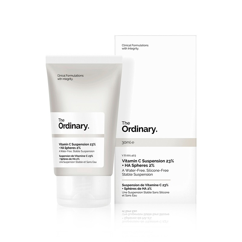 Own label brand, [THE ORDINARY] Vitamin C Suspension 23% + HA Spheres 2% 30ml (Weight : 55g)