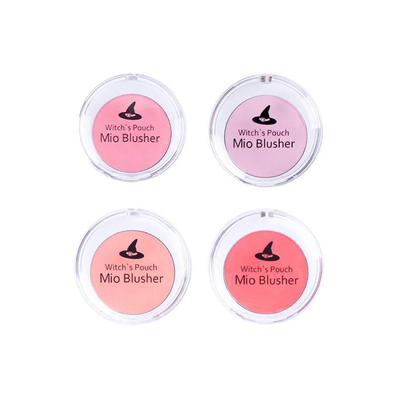 Own label brand, [WITCH'S POUCH] Mio Blusher 4.8g 3 Color (Weight : 39g)