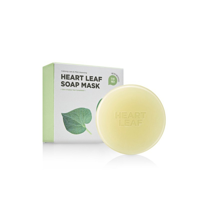 Own label brand, [SKIN1004] Zombie Beauty By Skin 1004 Heart Leaf Soap Mask 100g (Weight : 124g)
