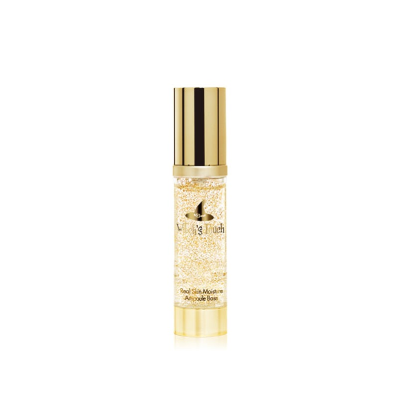 Own label brand, [WITCH'S POUCH] Real Skin Moisture Gold Ampoule Base 40ml (Weight : 100g)