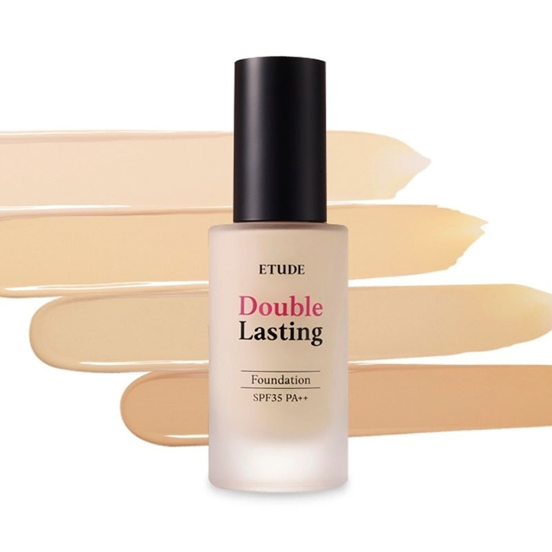 Own label brand, [ETUDE HOUSE] Double Lasting Foundation (SPF35/PA+++) 30g 7 Types (Weight : 158g)