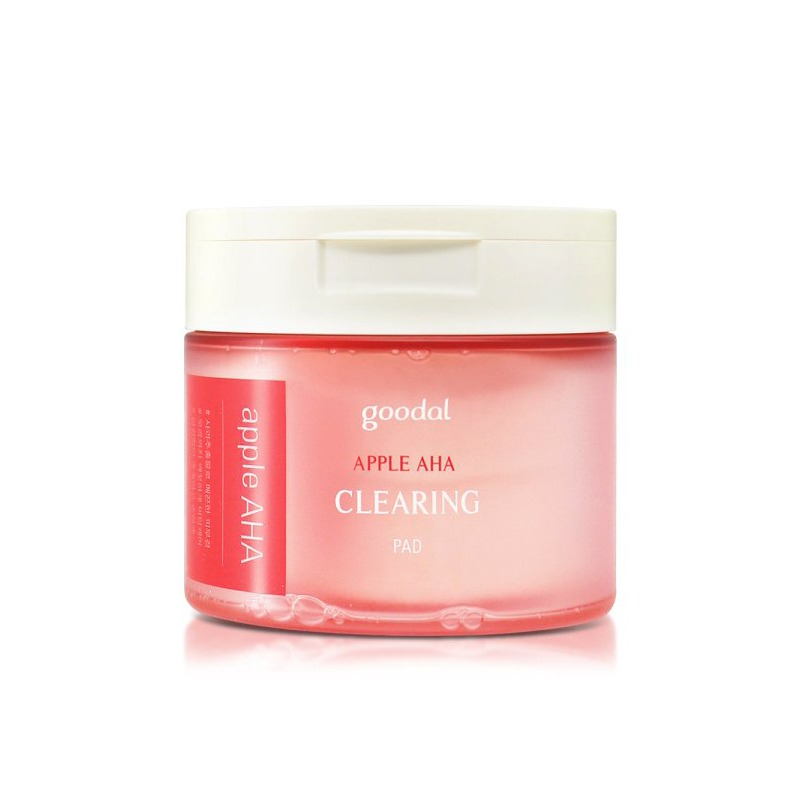 Own label brand, [GOODAL] Apple AHA Clearing Pad (70ea) 160ml (Weight : 288g)
