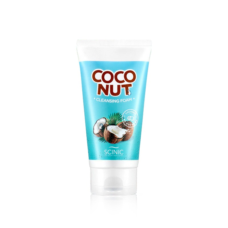 Own label brand, [SCINIC] Coconut Cleansing Foam 150ml (Weight : 186g)