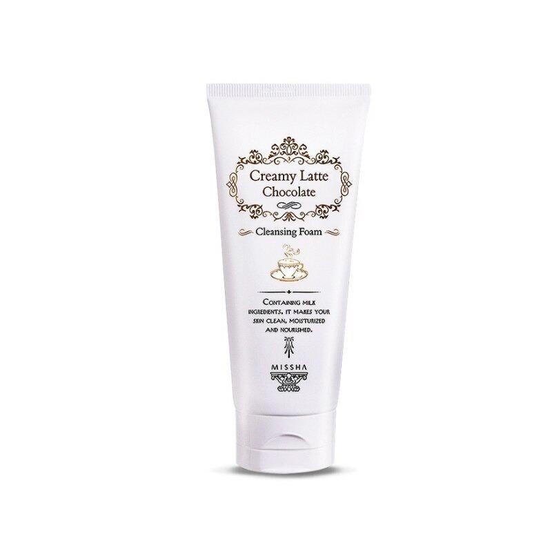 Own label brand, [MISSHA] Creamy Latte Chocolate Cleansing Foam 172ml (Weight : 223g)